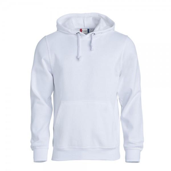 Clique Basic Hoody Weiß