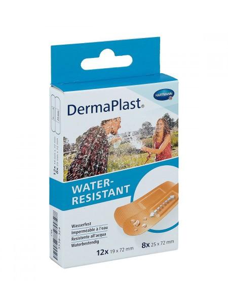 DermaPlast Water-Resistant Pflasterstrips 20 Stück