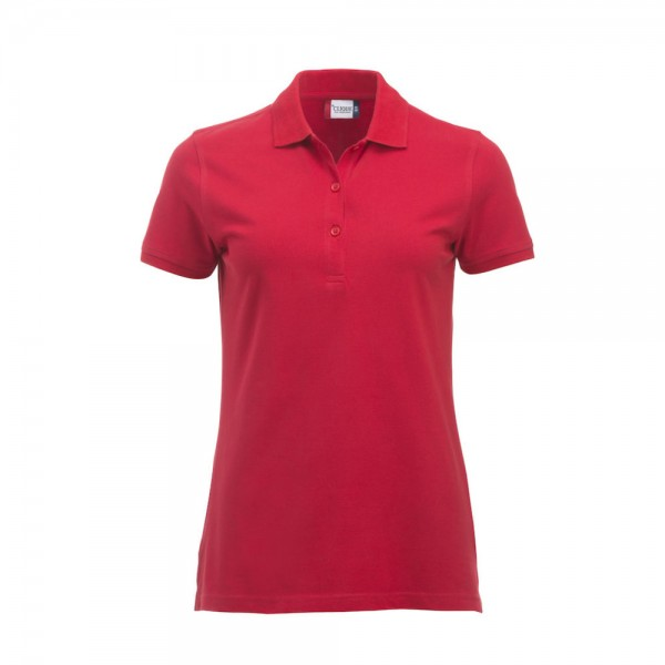 Clique Classic Marion Polo S/S Rot