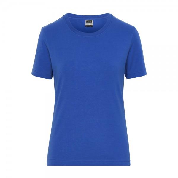James & Nicholson Ladies' BIO Stretch T-Shirt Work - SOLID