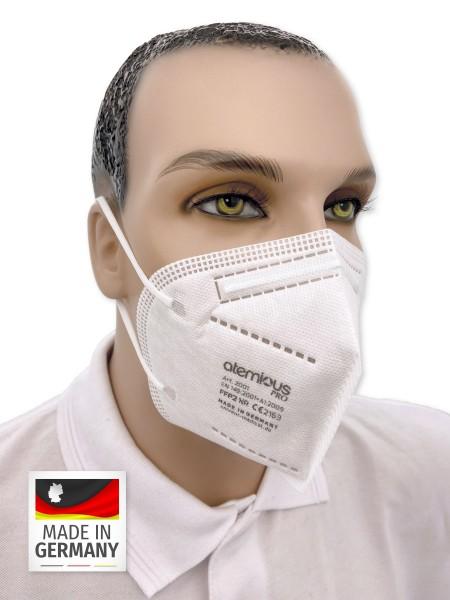 atemious PRO FFP2 NR Faltmaske Made in Germany
