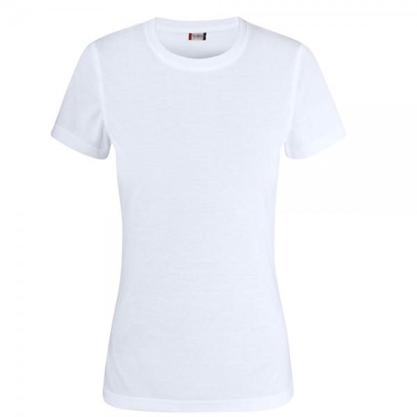 Clique Neon T-Shirt Ladies Weiß