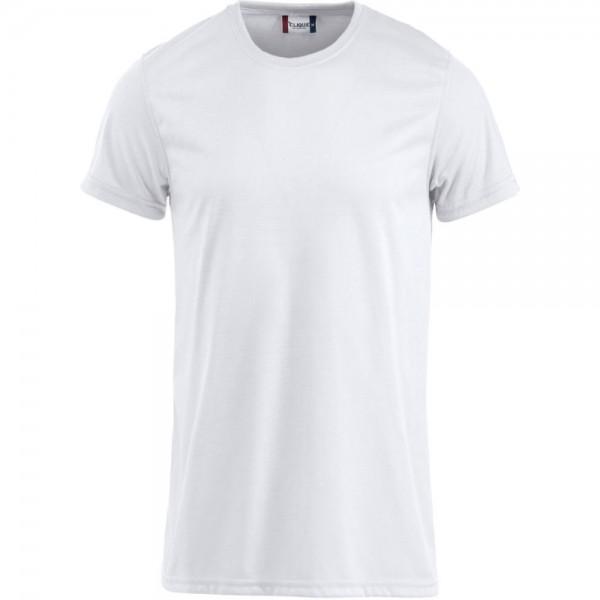 Clique Neon T-Shirt Weiß