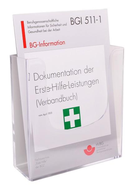 Aufbewahrungsbox für Verbandbuch 54-117