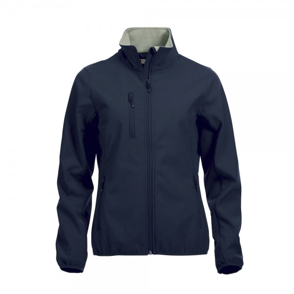Clique Basic Softshell Jacket Ladies Dark Navy