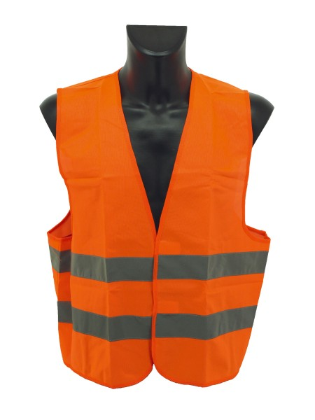 Kfz-Warnweste Orange, Erwachsene 90-121