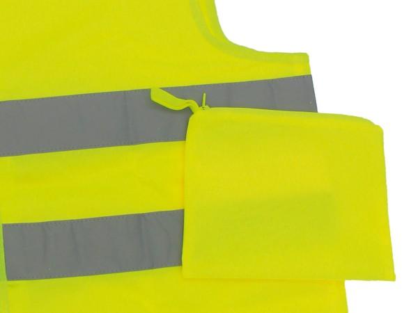 Warnwesten Transporttasche Gelb