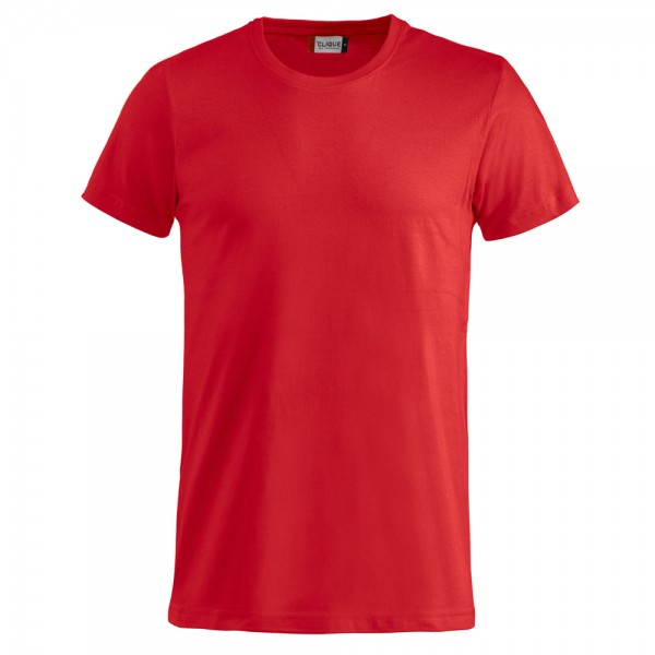 Clique Basic T-Shirt Rot