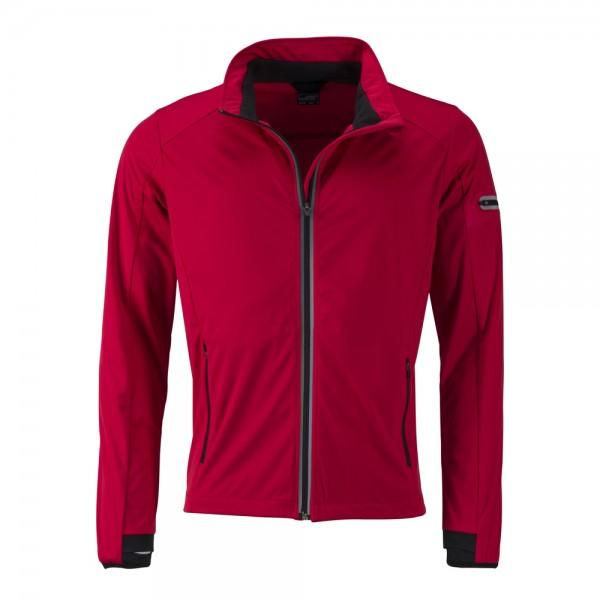 James & Nicholson Men's Sports Softshell Jacket