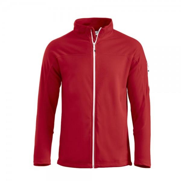 Clique Ducan Sweatjacke Rot