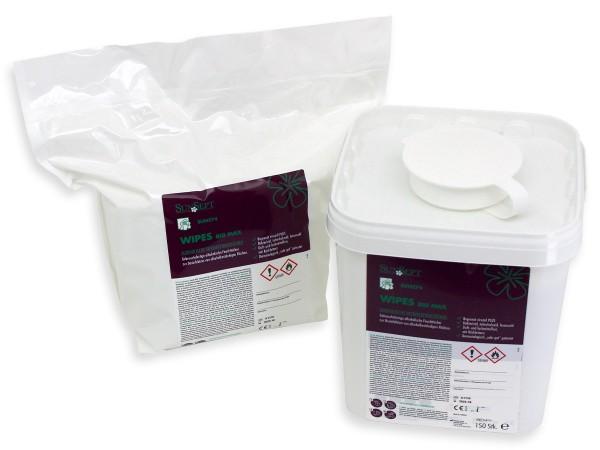 SunSept Wipes RSD 400 Big Max Desinfektionstücher inkl. Spendereimer 66-121-1