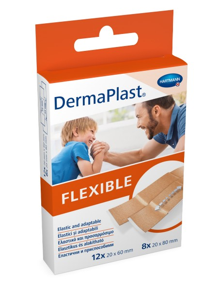 DermaPlast FLEXIBLE Pflasterstrips Sortiment